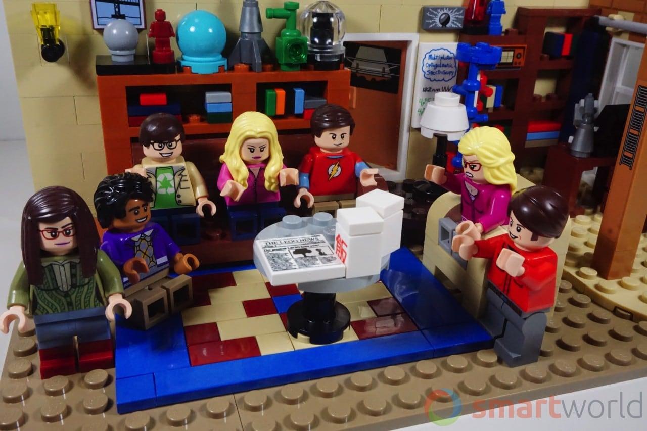 LEGO The Big Bang Theory, le nostre foto