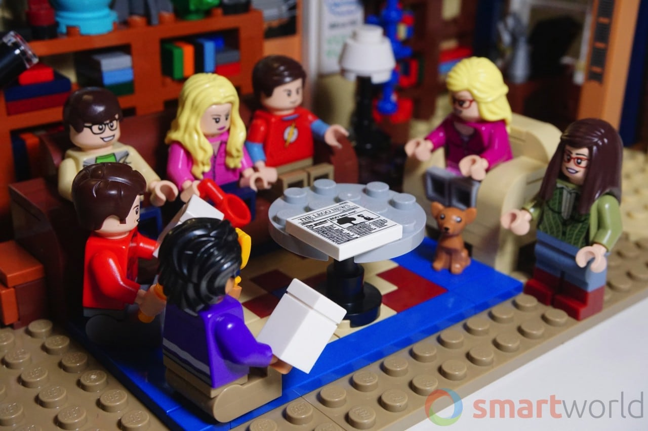 LEGO The Big Bang Theory Dettagli SW - 2