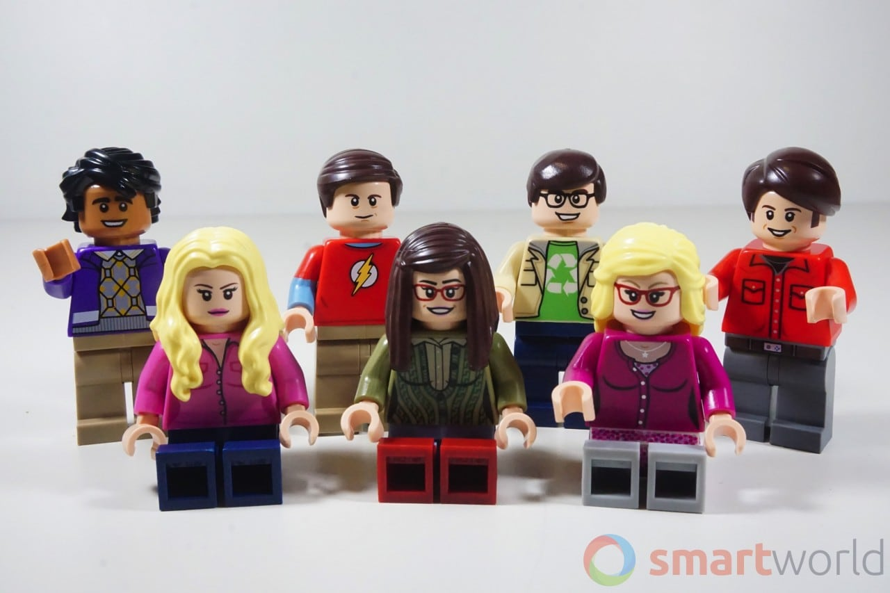 LEGO The Big Bang Theory Personaggi SW - 9
