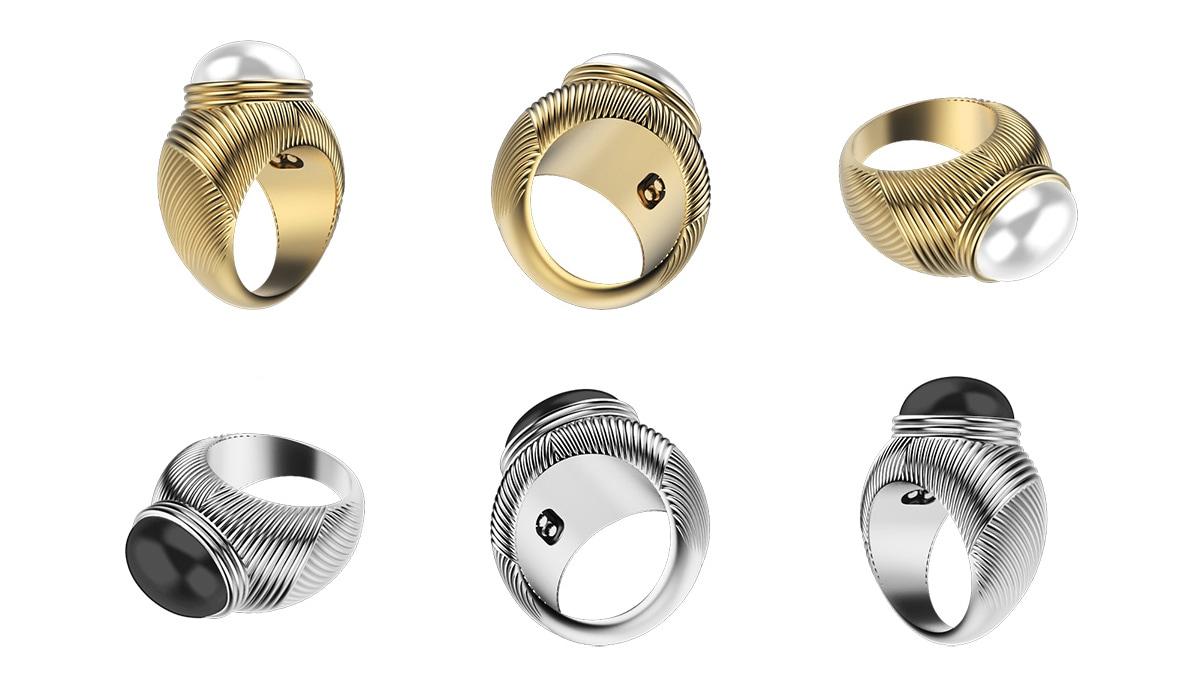 Omate Ungaro anello