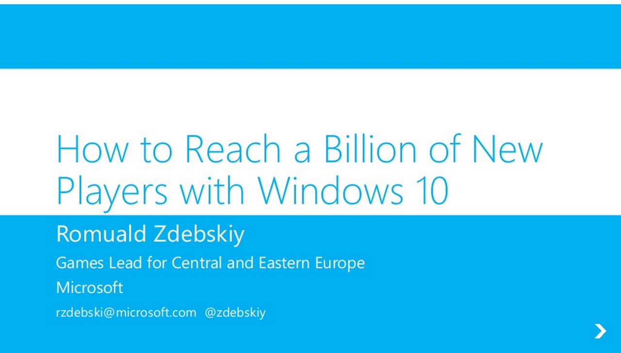 Presentazione  Sviluppatori Microsoft_29