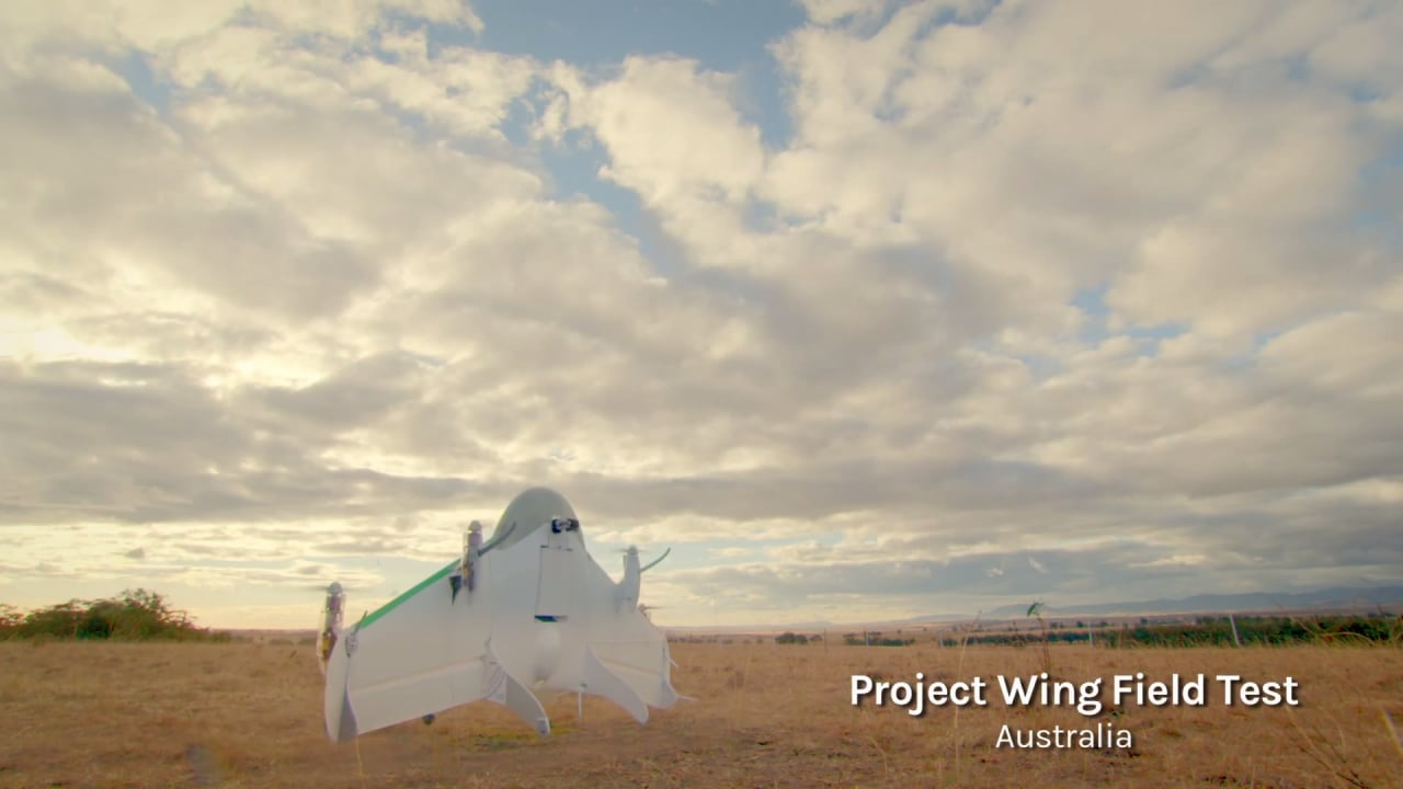 Project Wing test