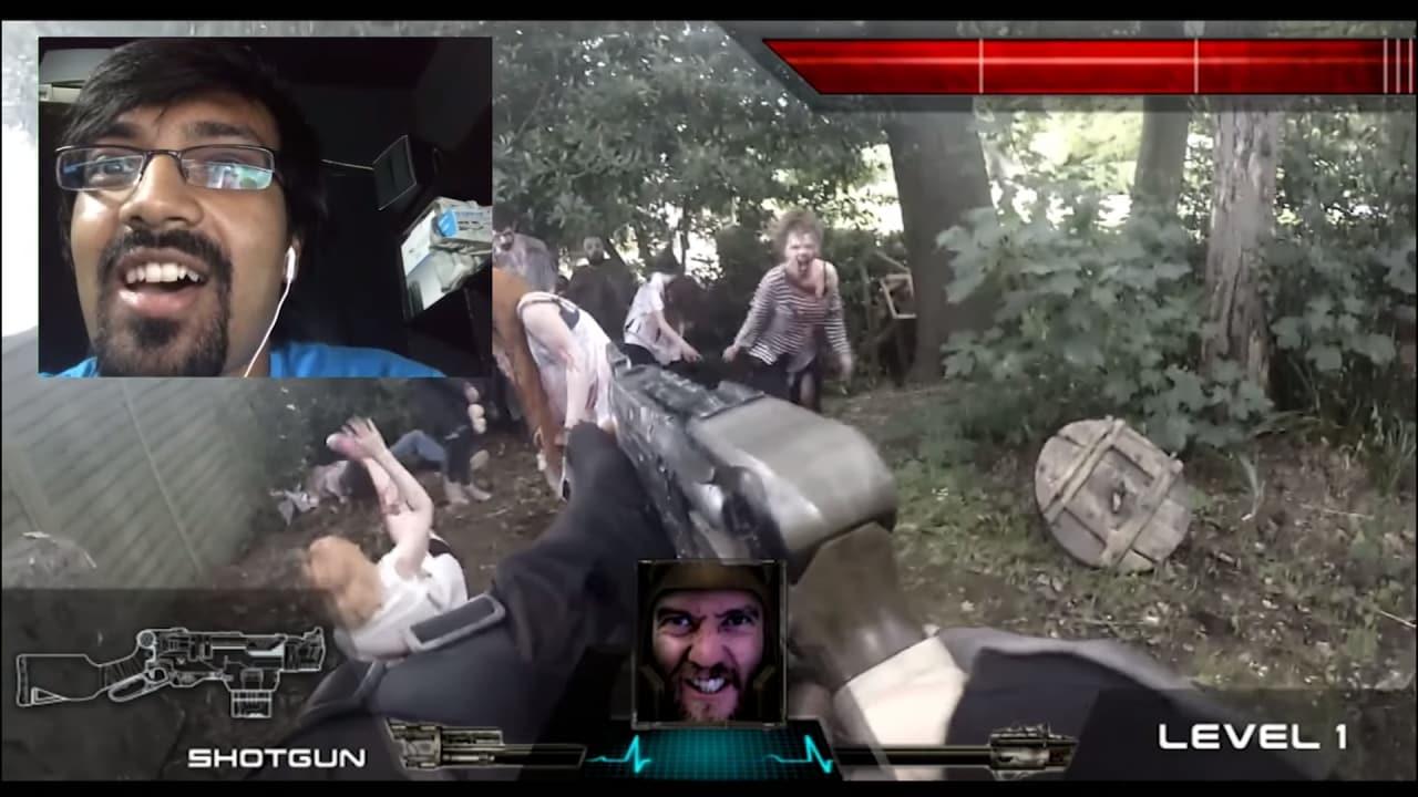 Avete perso l'occasione di giocare ad un FPS nella vita vera! (video)