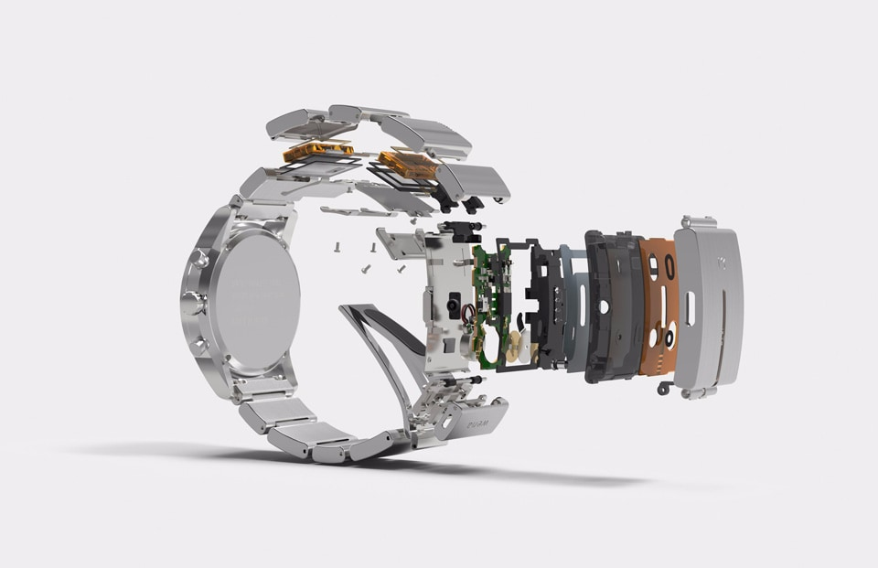 Wena Wrist orologio smart Sony_1