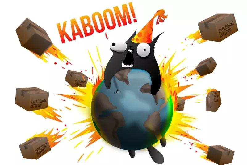 Partono le spedizioni di Gatti Esplosivi! (il gioco di carte)