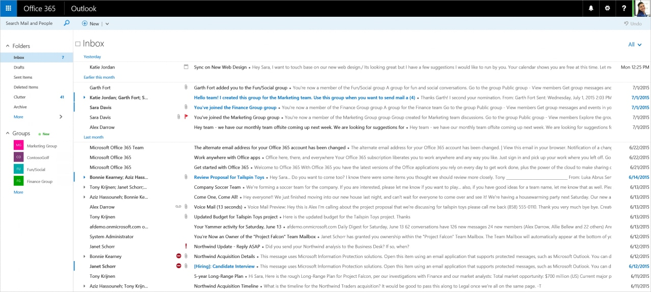 nuova versione outlook web_5