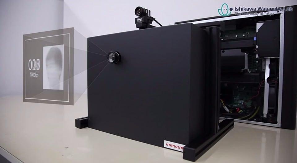 Il proiettore estremo che raggiunge i 1000 fps (video)