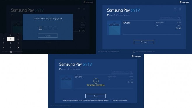 samsung pay tv