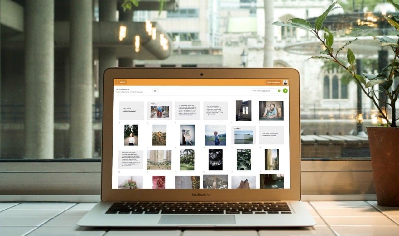 swipe web app presentazioni