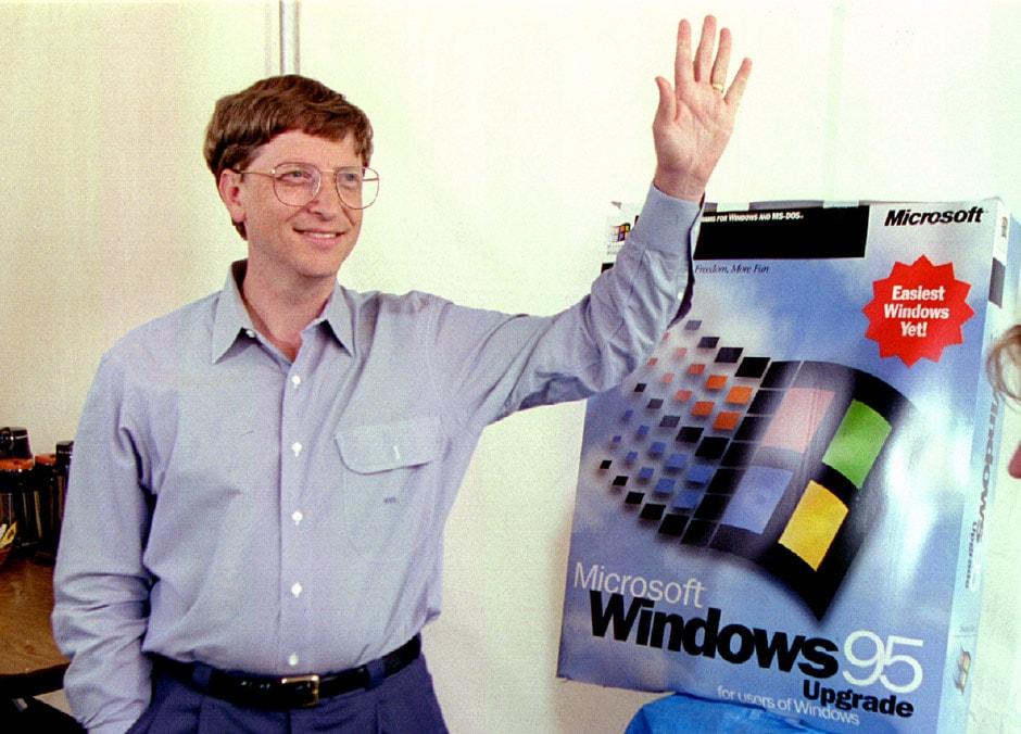 windows-95 bill gates