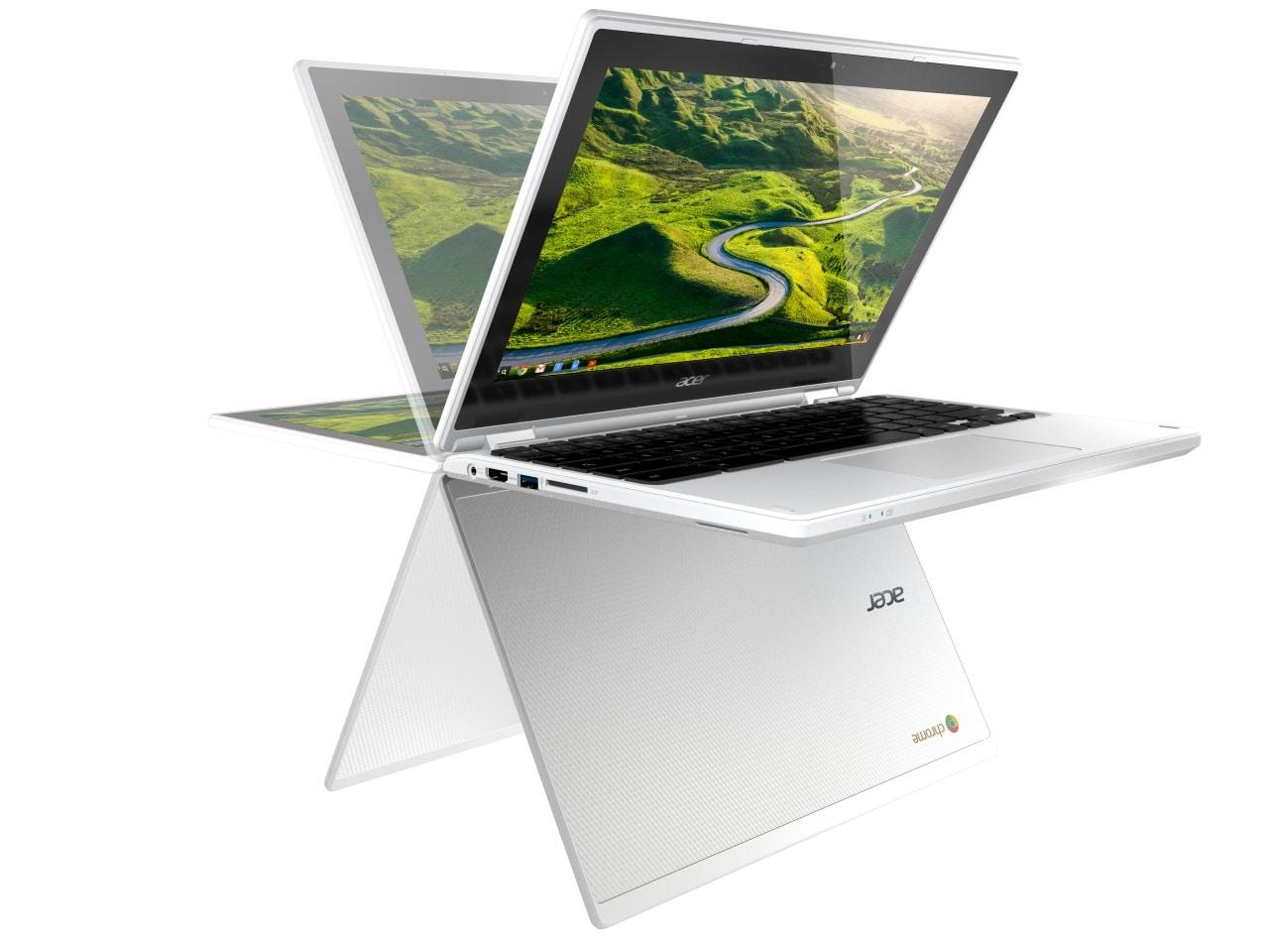 Acer Chromebook R11: ChromeOS a 360° grazie alle cerniere (foto)