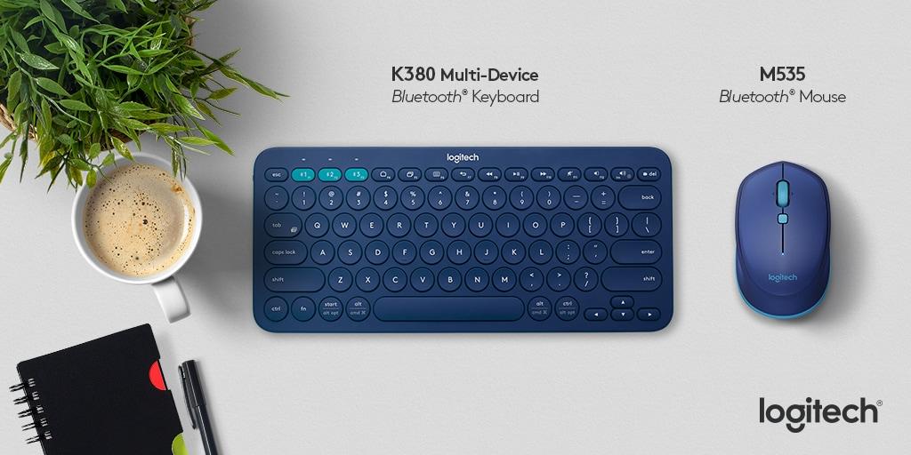 Logitech K380 e M535