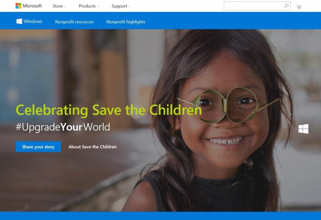 Microsoft - Save the Children