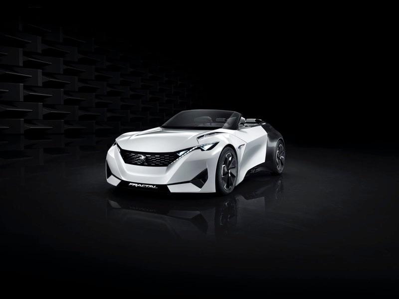 Peugeot vi mostra il suo futuro con Fractal, concept di un'elettrica dedicata alla musica (foto)