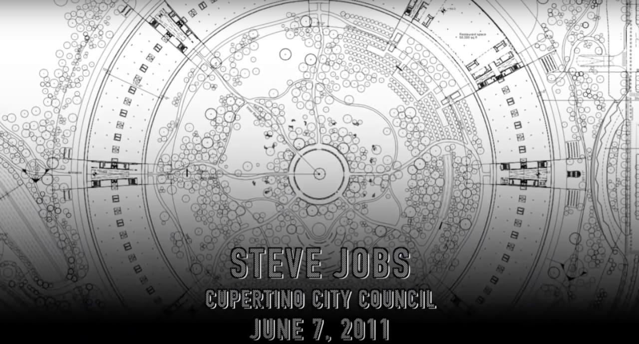 Apple Campus 2 - Steve Jobs -Drone