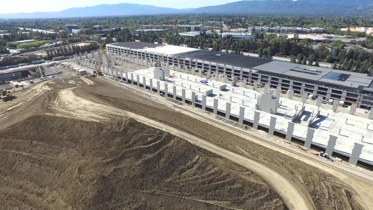 Date un'occhiata in 4K al cantiere del nuovo campus Apple (video)
