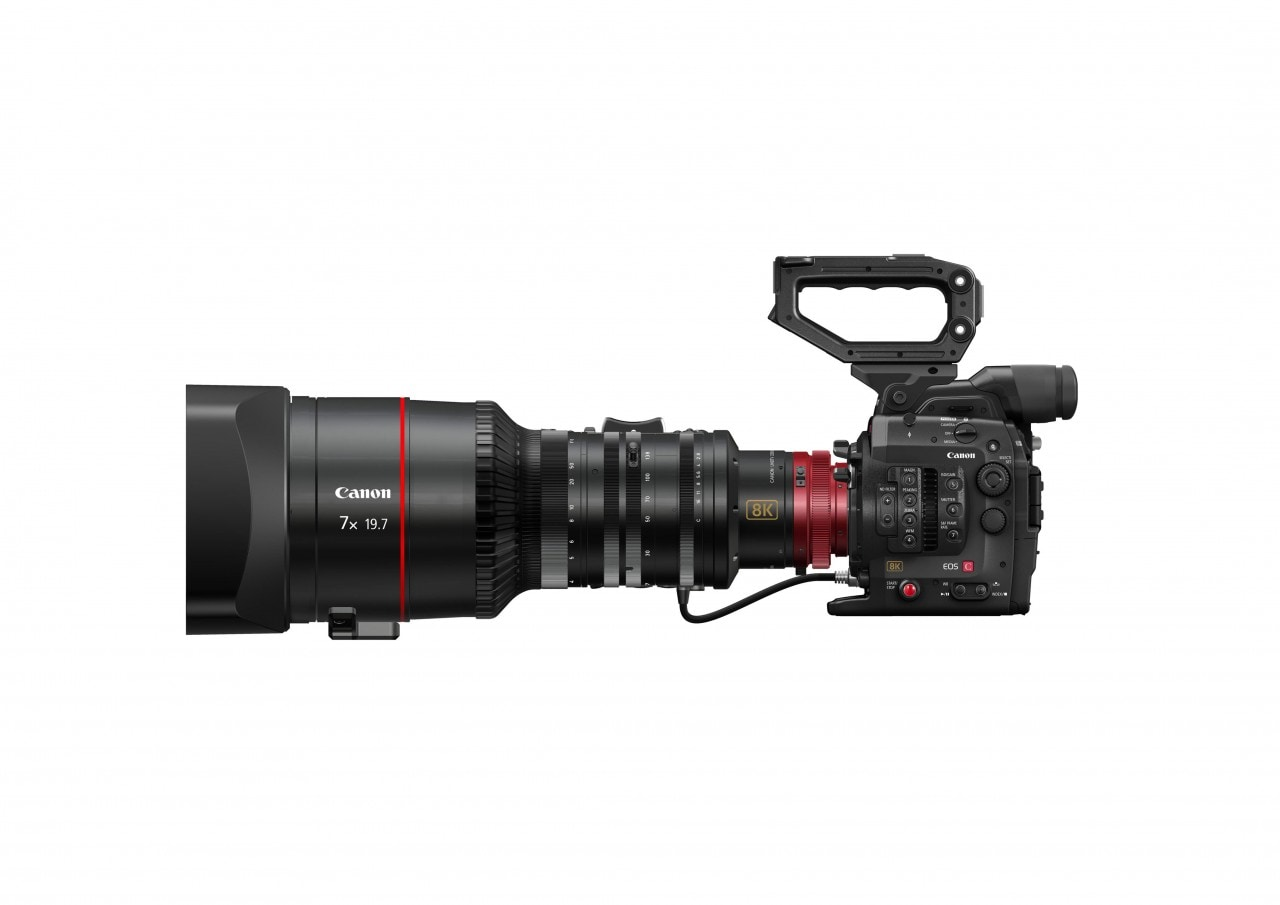 Canon promette una reflex da 120 megapixel e una videocamera 8K