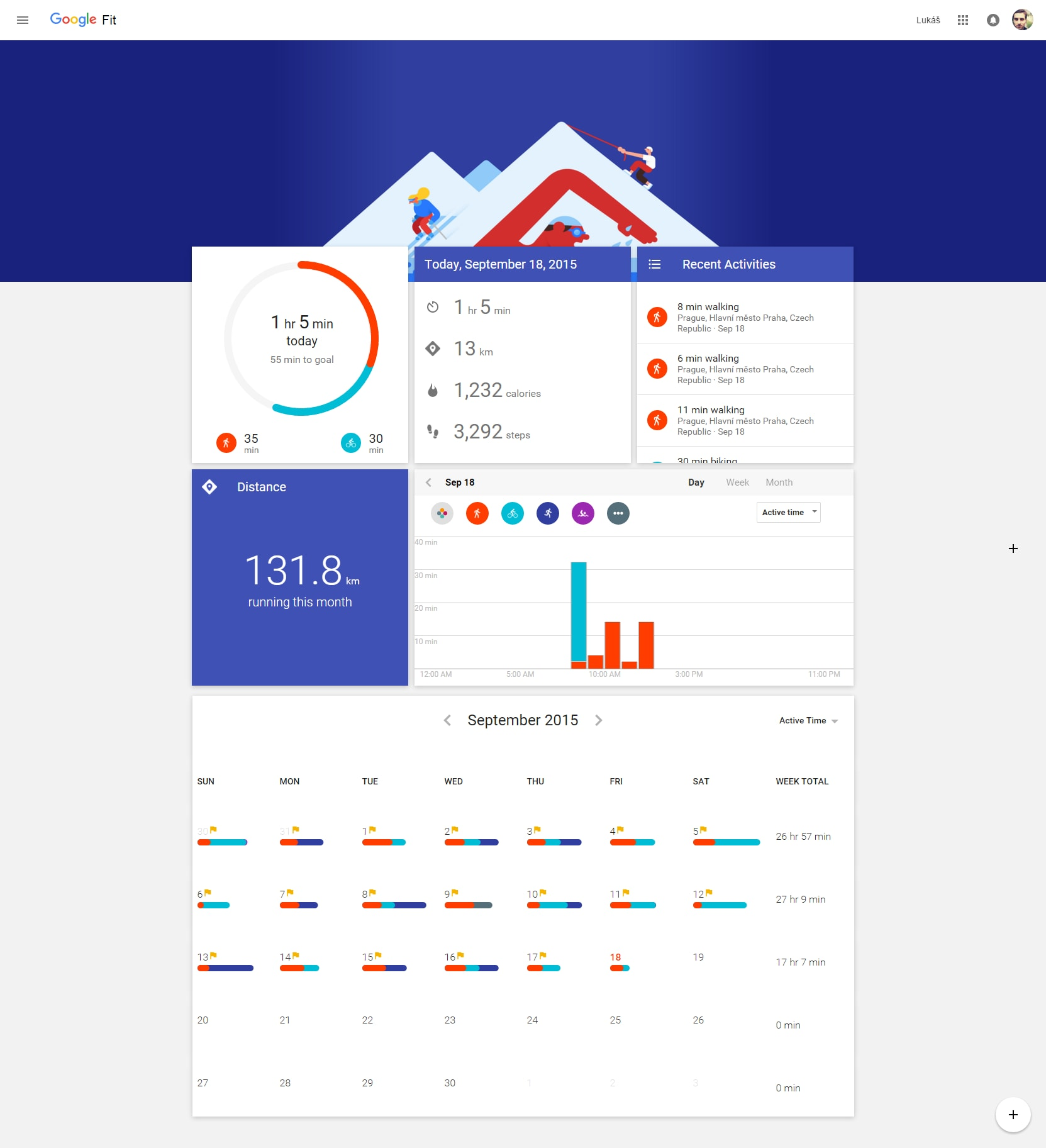 google fit material web 3
