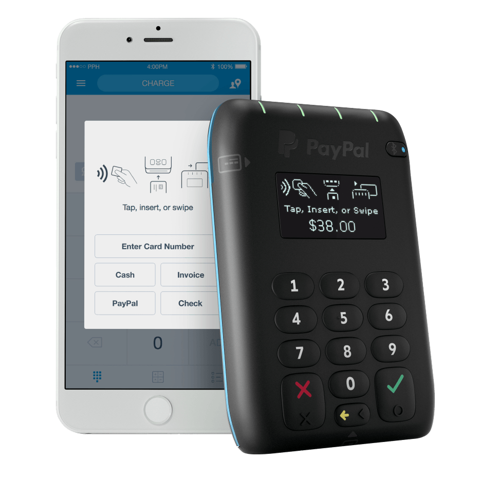 paypal pos android pay apple pay
