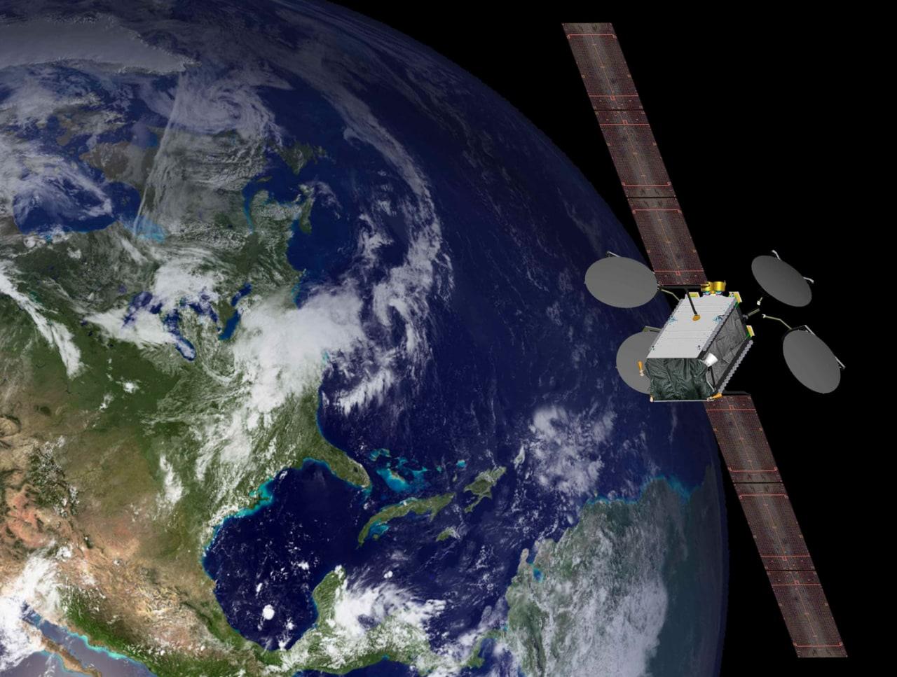 satellite elettrico