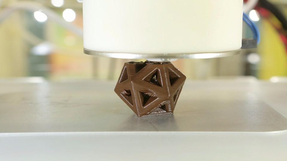 stampante 3D cioccolato