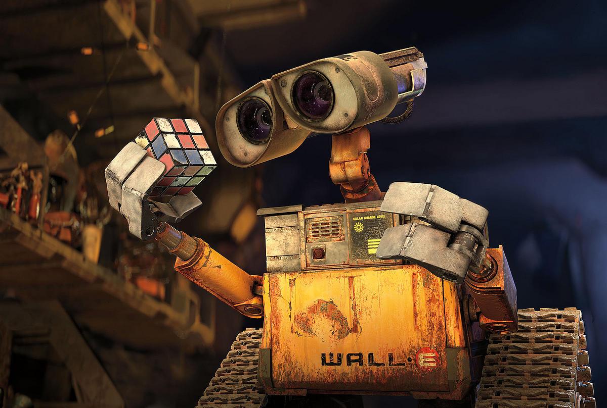 wall e robot final