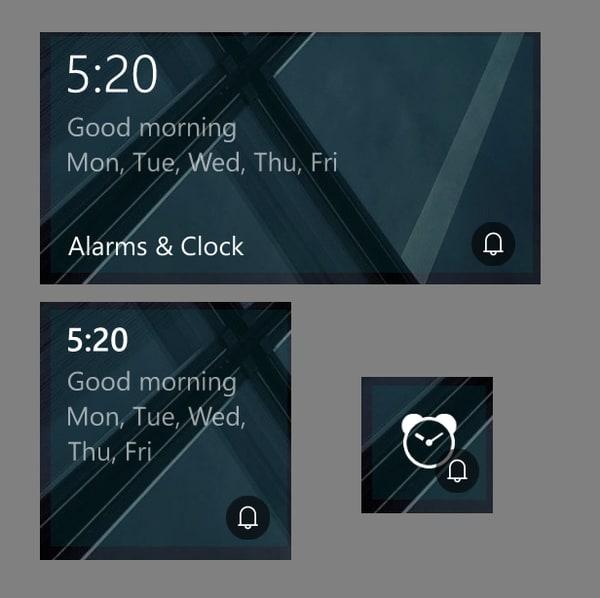 Aggiornamento app orologio (2)