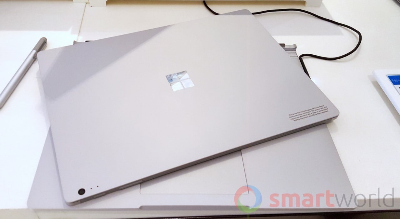 Microsoft Surface Book, la nostra anteprima (foto)