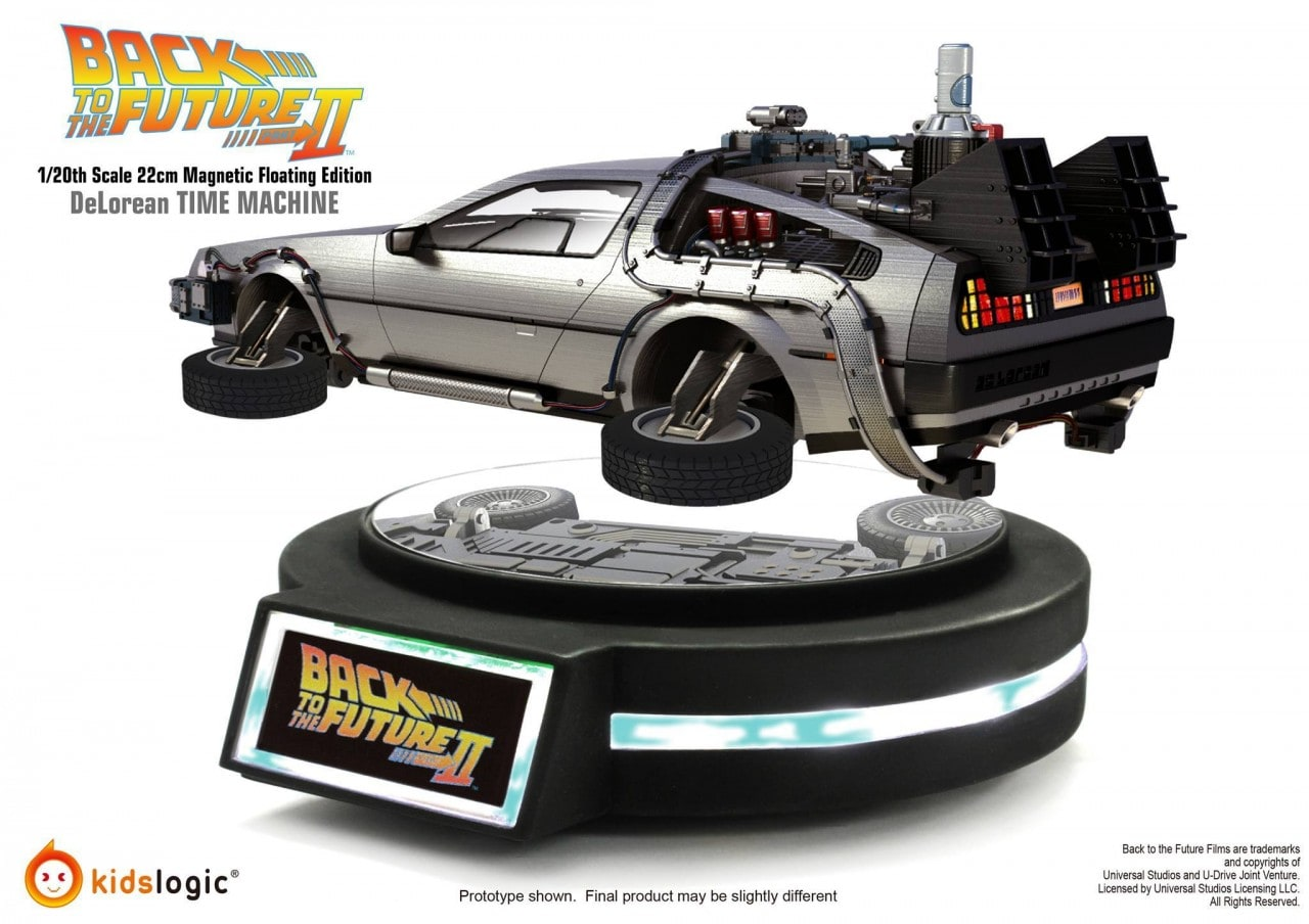 DeLorean Magnetic Floating Edition foto - 1