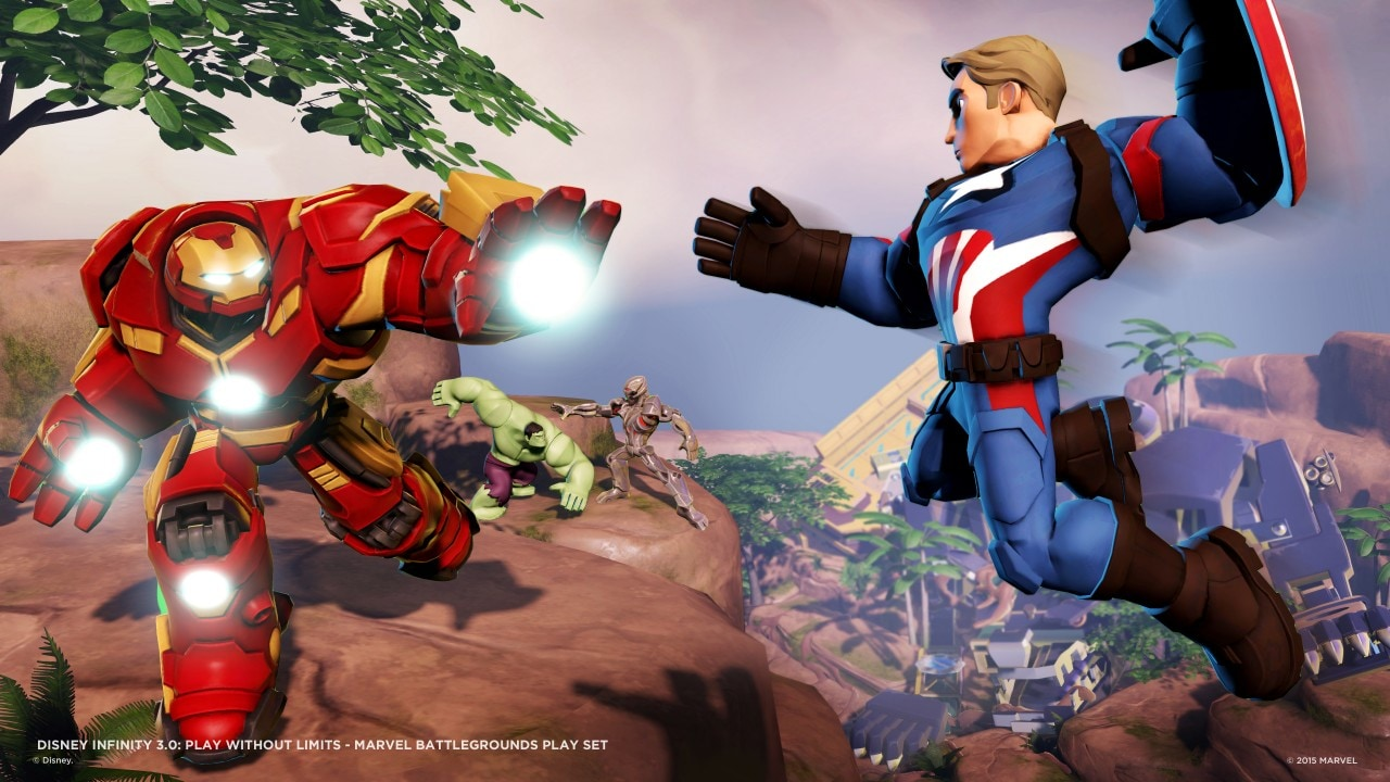 Disney Infinity 3.0 Marvel Battlegrounds - 3