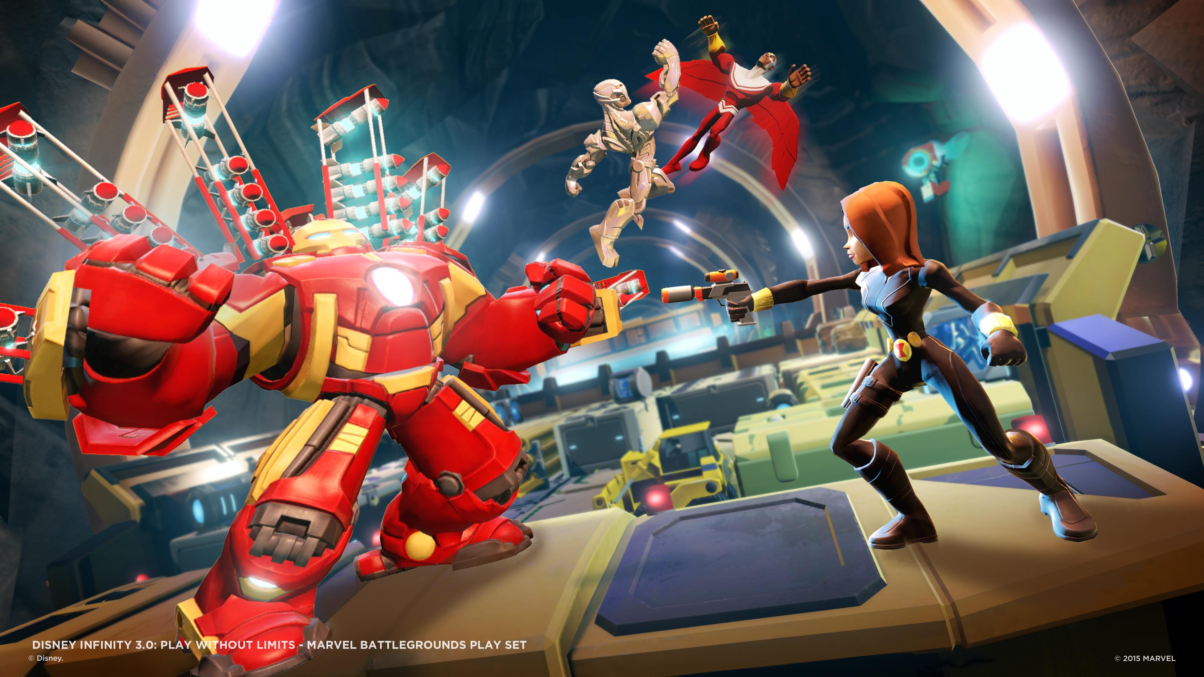 Disney Infinity 3.0 Marvel Battlegrounds – 4