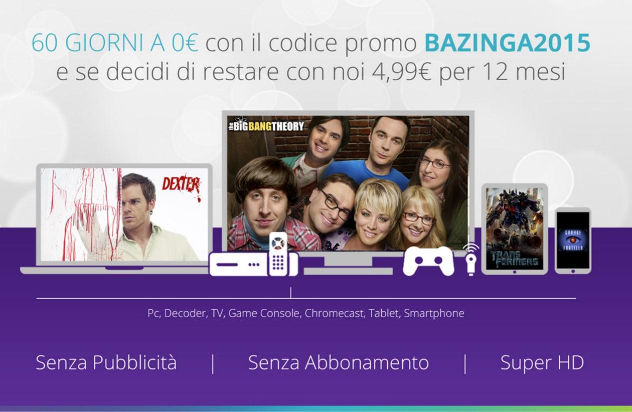 Mediaset Infinity Bazinga