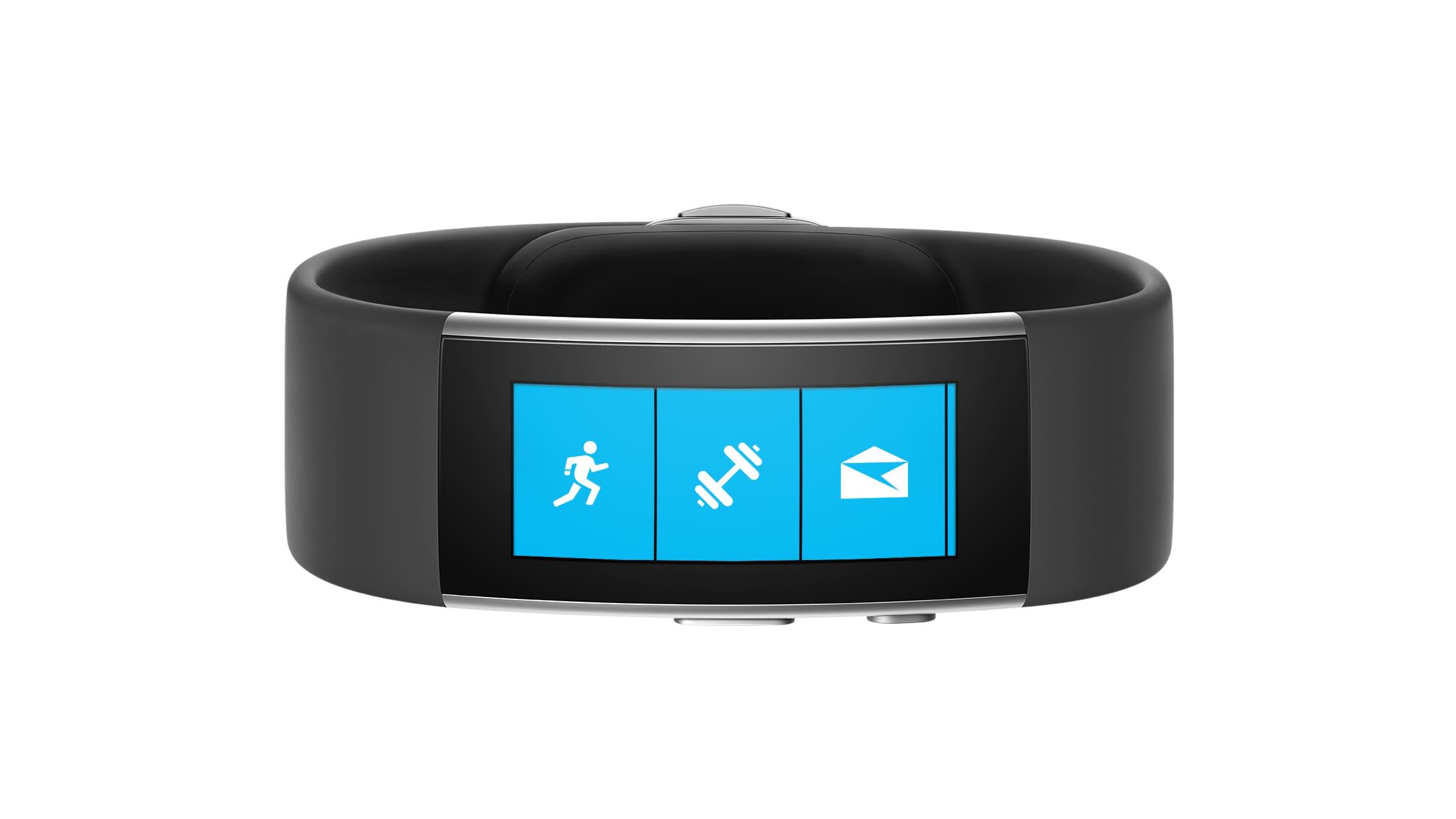Microsoft Band Render – 1
