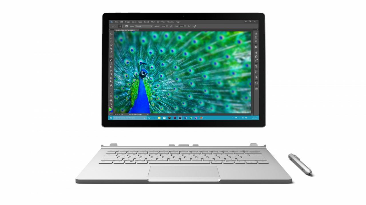 La tastiera del nuovo Surface Book non sarà venduta a parte