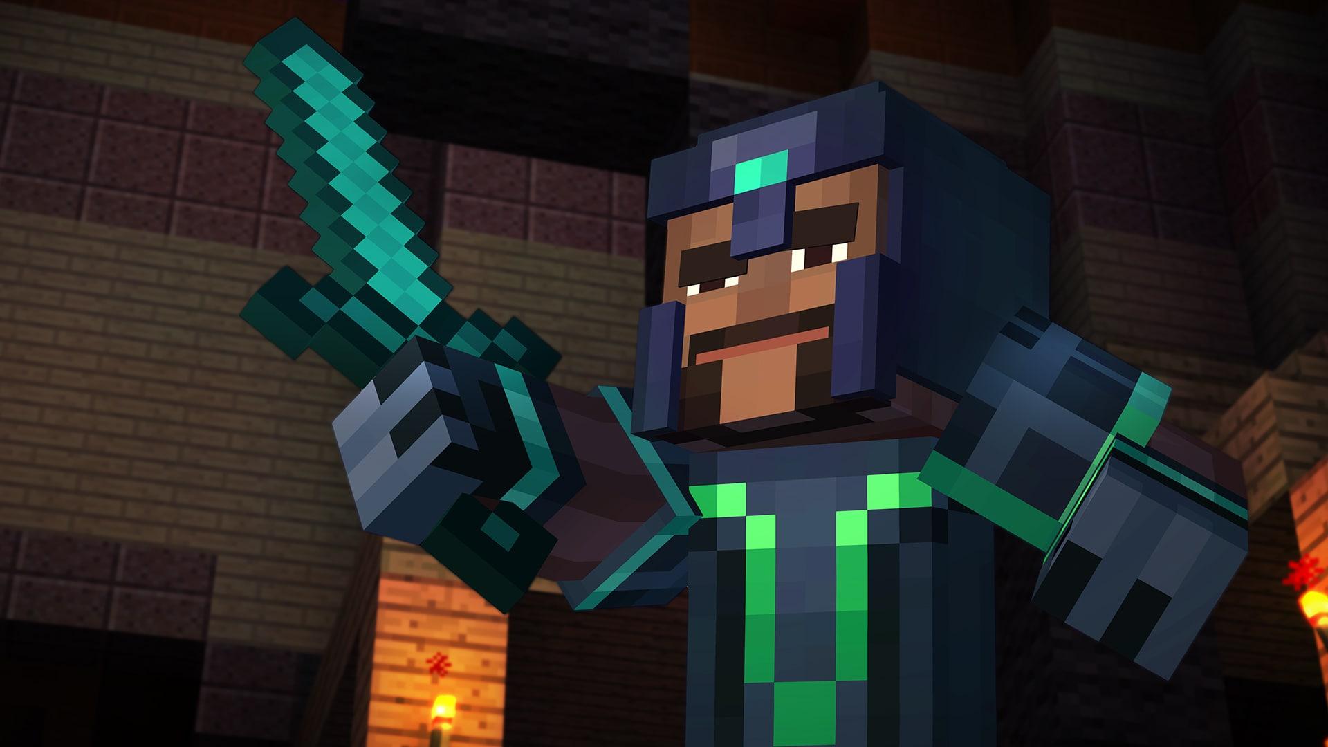 Minecraft Story Mode Screenshot – 1