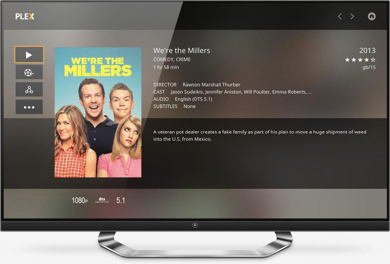 Plex smart tv