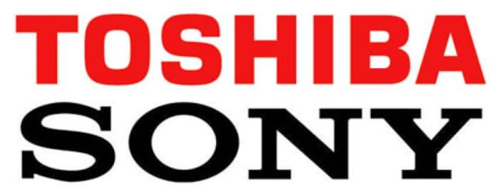 Toshiba - Sony