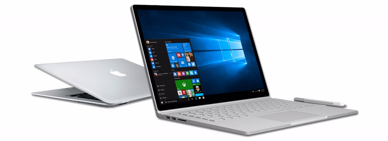 da mac a surface book