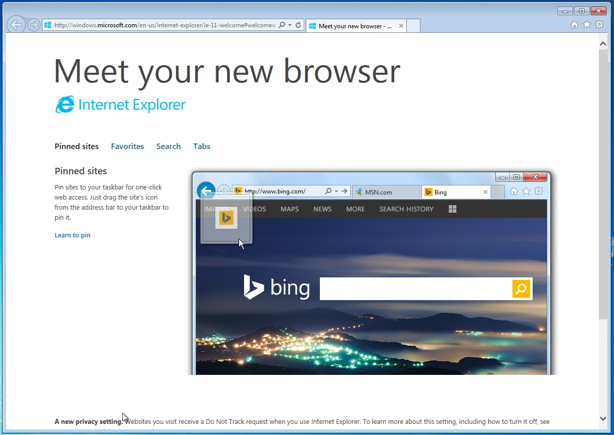 falla internet explorer windows