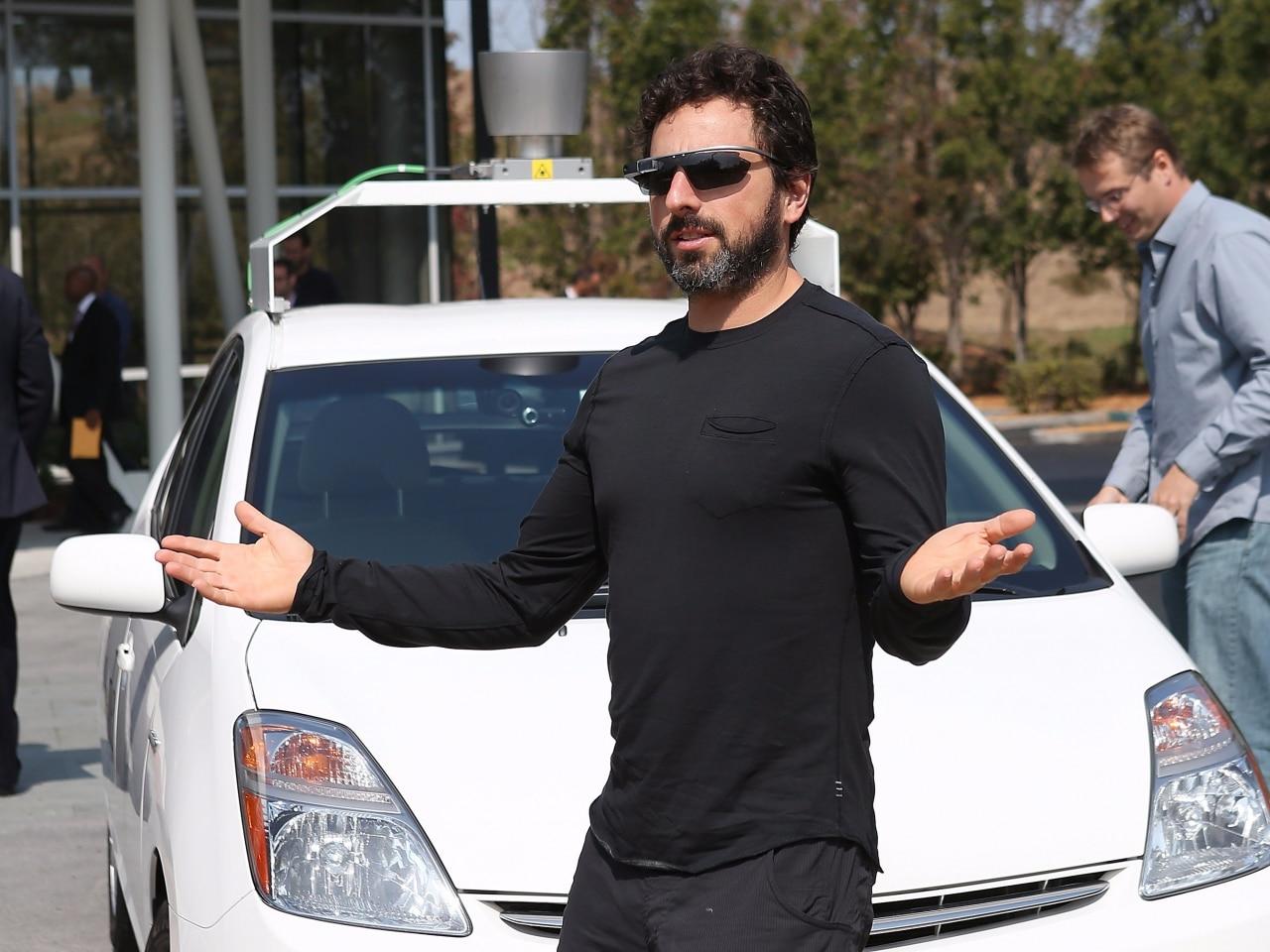 google car sergey brin intervista