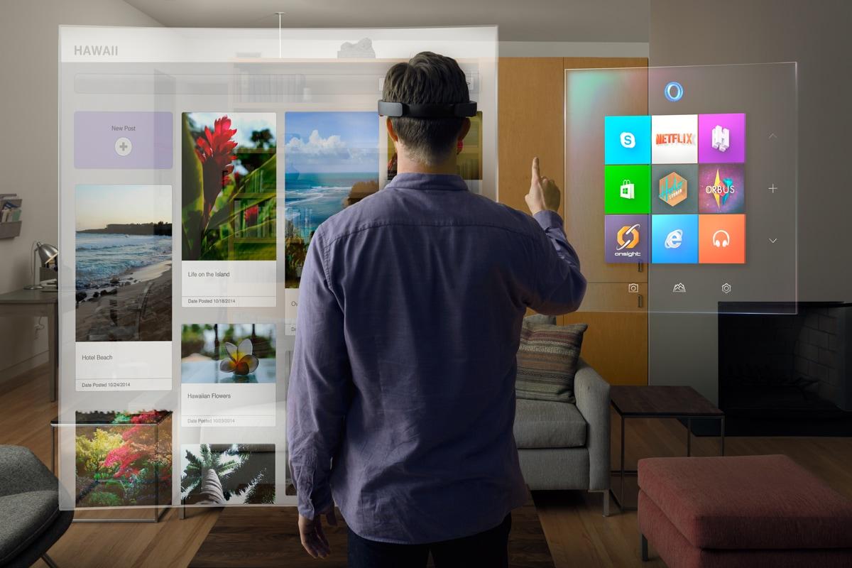 I dipendenti Microsoft se la spassano con HoloLens e vi fanno ingelosire su Twitter