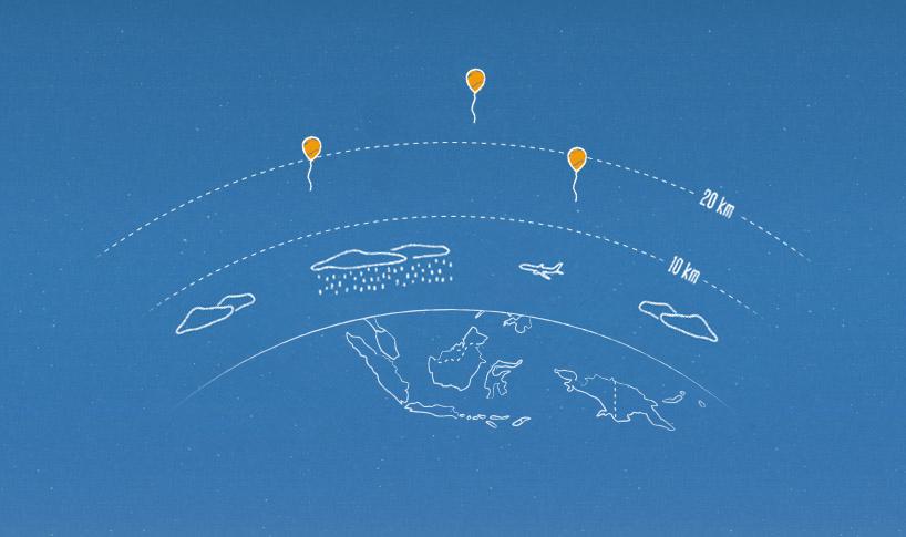Google Project Loon porterà internet a 100 milioni di indonesiani