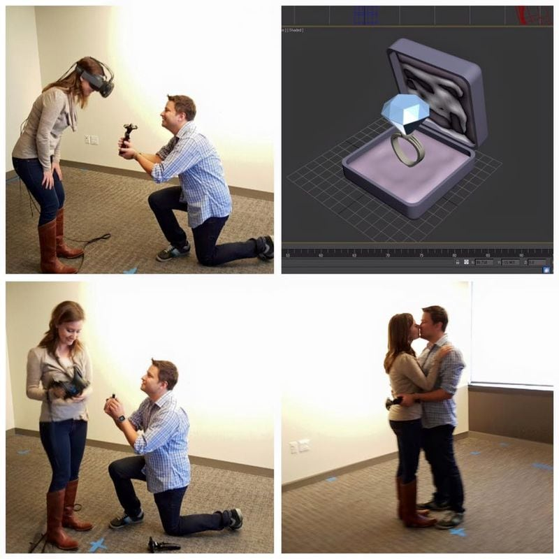 proposta matrimonio realtà virtuale 2