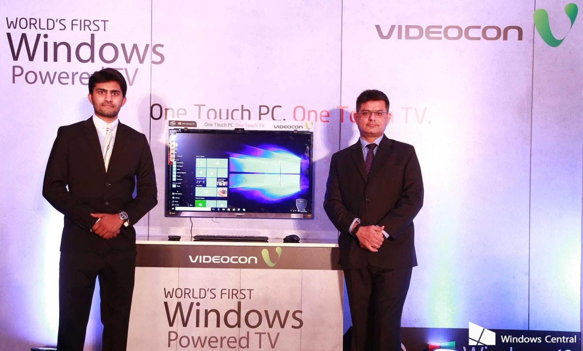 Annunciato in India il primo televisore con Windows 10