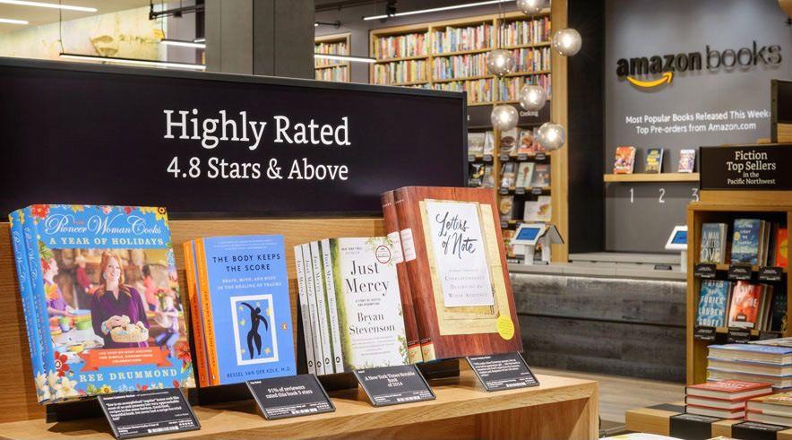 Amazon Books – 1