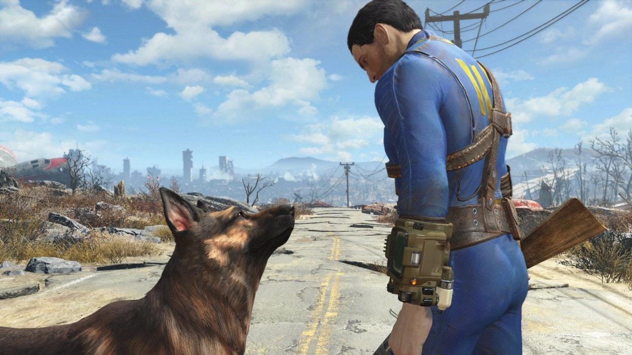 Il povero Dogmeat, ancora prima dell'uscita di Fallout 4, ha subito più critiche del panettone di Valerio Scanu.