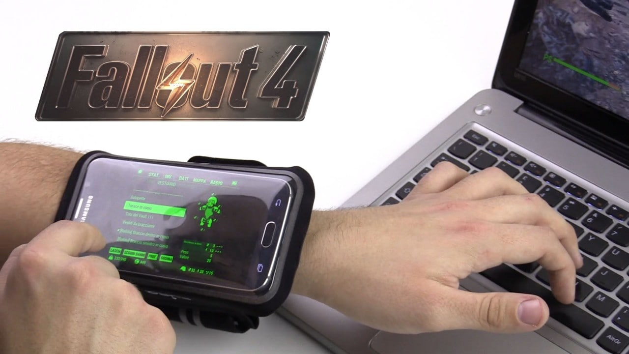 how to connect pip boy app to pc