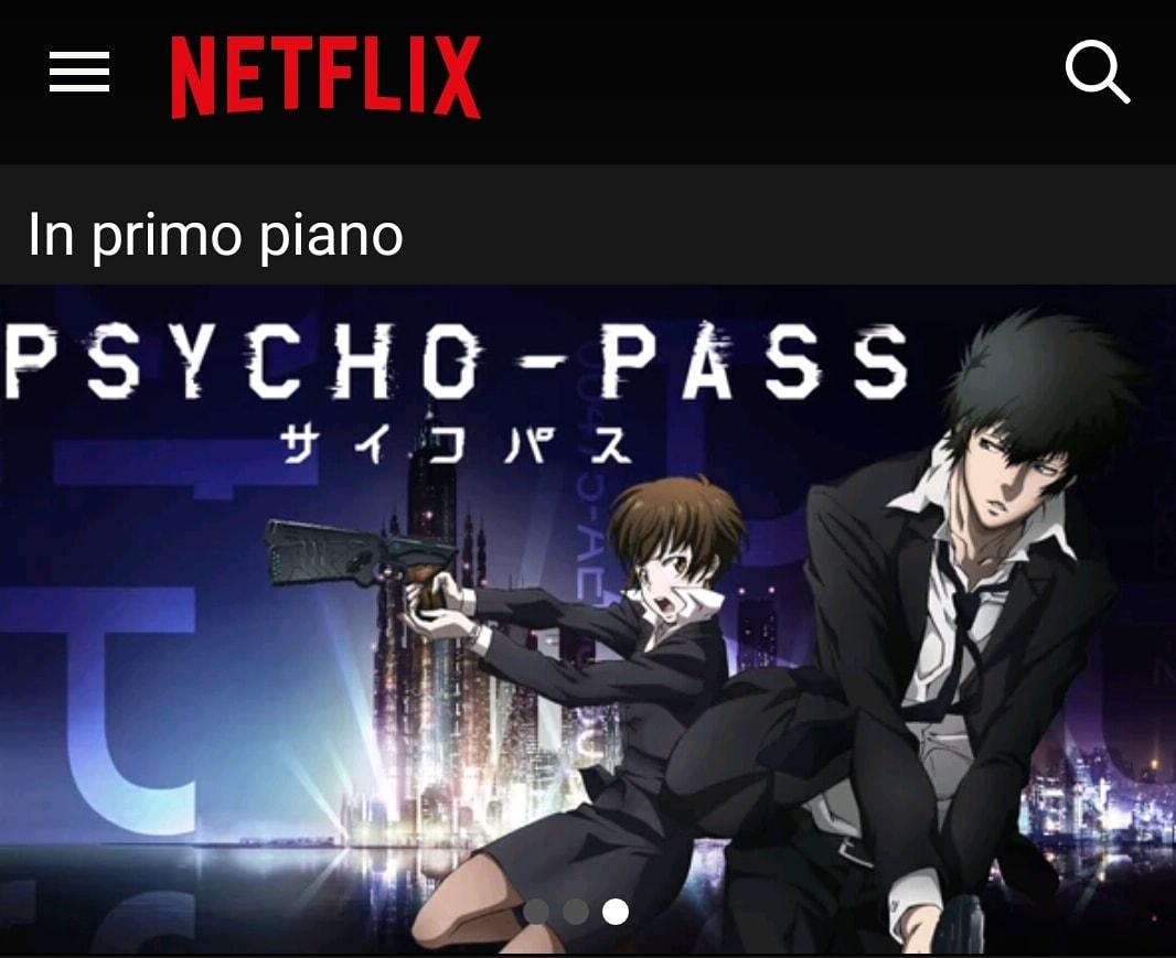 Netflix Anime Psycho Pass