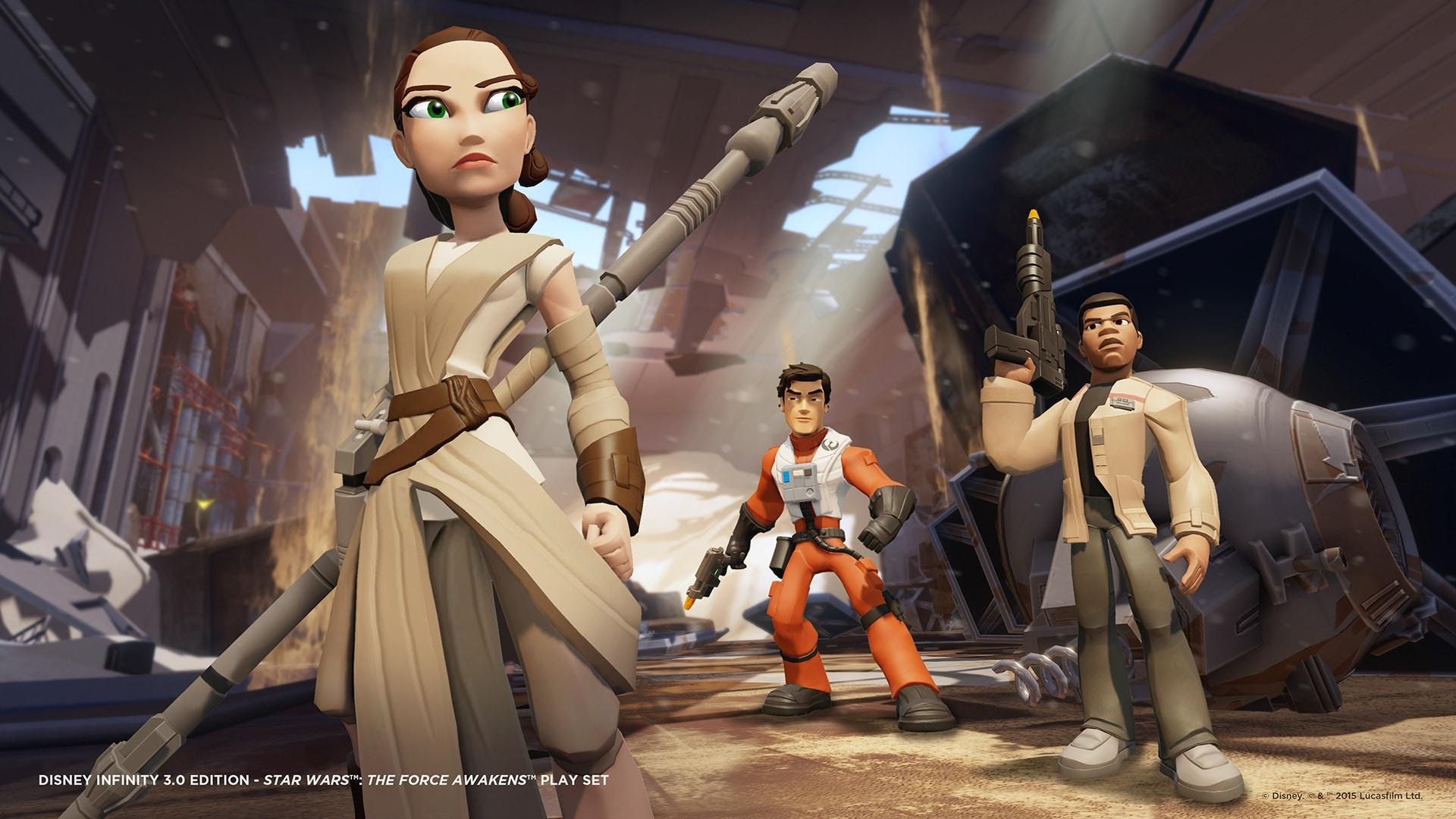 Play Set Disney Infinity 3.0 Star Wars Il Risveglio della Forza – 6