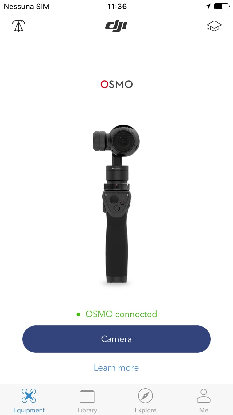 Screenshot DJI Go Osmo – 1